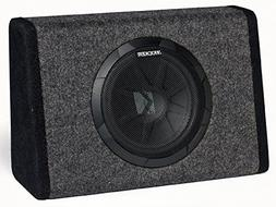 "Kicker 11PT10 Loaded 8"" Powered Sub Box Enclosure PT10"