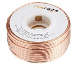 AmazonBasics 16-Gauge Speaker Wire Audio Spool Home Car AWG