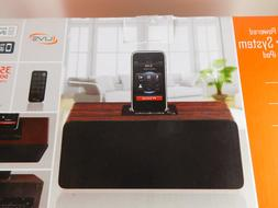 iLive 2.1 Channel Powered Speaker System for iPod+iPhone NIB