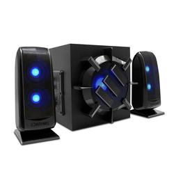 ENHANCE 2.1 Computer Speaker System with Powered Subwoofer -