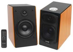"Rockville HD5  5"" Powered Bookshelf Speakers Bluetooth Monit"