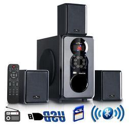 beFree Sound 3.1 Channel Surround Sound Bluetooth Speaker Sy