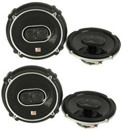 "4) New JBL GTO638 6.5"" - 6.75"" 360W 3 Way Car Audio Coaxial"