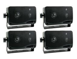 """4) New PYRAMID 2022SX 3.25"""" 200w 3-Way Car Audio Mini Box Sp"""
