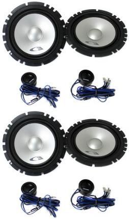 """4 Alpine SXE-1750S 6.5"""" 560W Car 2 Way Component Audio Speak"""