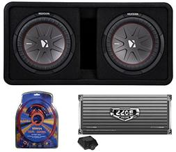 "Kicker 43DCWR122 12"" 2000W Car Subwoofers Subs + Box+4000 Wa"