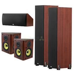 DCM 5.0 Home Theater Speaker System Bundle 2 Towers 2 Booksh