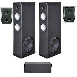 Premier Acoustic 5.0 Home Theater System Bundle with 2 PA-8.