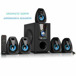 beFree Sound 5.1 Channel Surround Speaker System with Blueto