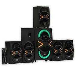 Acoustic Audio by Goldwood 5.1 Speaker System 5.1-Channel wi
