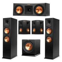 Klipsch 5.1 System with 2 RP-280F Tower Speakers, 1 RP-250C