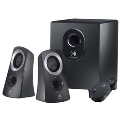 Logitech 50 Watts Computer Speaker System with Subwoofer | B