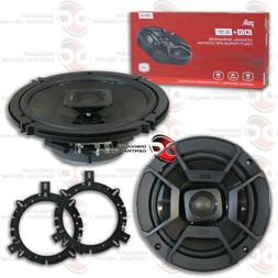 POLK AUDIO 6.5-INCH 2-WAY CAR AUDIO BOAT MARINE COAXIAL SPEA