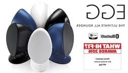 KEF EGG Versatile Desktop Speaker System  - Gloss Black