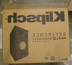 Klipsch RB-61 II Reference Series Bookshelf Loudspeakers, Bl