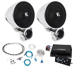 Package:Kicker 40PSM32 PSM3 Waterproof Motorcycle and ATV Ha