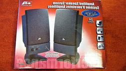 CYBER ACOUSTICS Amplified Speaker System CA2022R / 24W / Bla