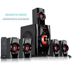 beFree 5.1 Channel Surround Sound Speaker System with Blueto