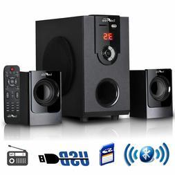 beFree Sound BFS-30 2.1 Channel Surround Sound Bluetooth Spe