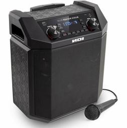 ION Audio Block Rocker Plus | 100W Portable Battery Powered