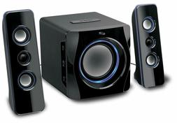 iLive Bluetooth 2.1-Channel Speaker System with subwoofer