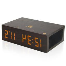 Bluetooth Digital Alarm Clock Speaker by GOgroove - Built i