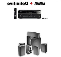 Yamaha Bluetooth Audio & Video Component Receiver Black  + D