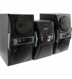 Bluetooth Home Music System with FM Tuner & LED Lights
