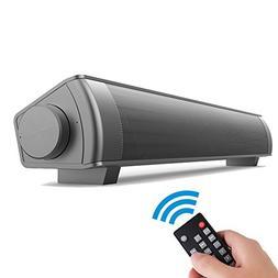 EWEMOSI Bluetooth Sound Bar - Wireless Speaker Audio Stereo