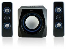 iLive Bluetooth Speaker System with Built-In Subwoofer, 7.28