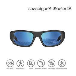 Bluetooth Sunglasses,Open Ear Wireless Sunglasses Polarized