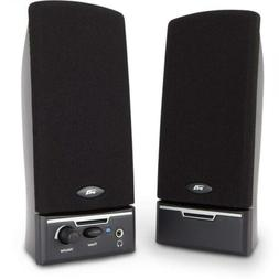 Cyber Acoustics CA-2014 2-Piece Amplified Computer Speaker S