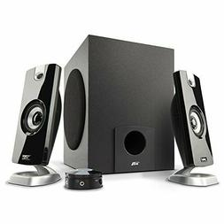 Cyber Acoustics 2.1 Subwoofer Speaker System With 18W of Pow
