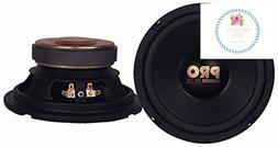 Car Mid Bass Speaker System - Pro 6.5 Inch 200 Watt 4 Ohm Ve