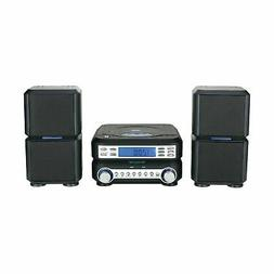 Naxa Digital CD Micro System with AM/FM Stereo Radio