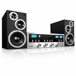 Innovative Technology CD Stereo System Bluetooth Home Speake
