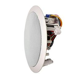 "Ceiling and Wall Mount Speaker - 6.5"" 2-Way 70V Audio Ster"