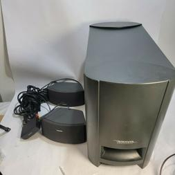 Bose CineMate GS Digital Home Theatre speaker System no remo