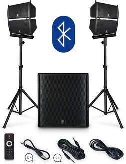 PRORECK Club 4000 18-inch 4000W P.M.P.O Stereo DJ/Powered PA