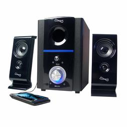 SUPERSONIC COMPUTER LAPTOP PC MAC SUBWOOFER SPEAKER SYSTEM F