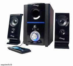 COMPUTER PC MAC LAPTOP SUPERSONIC SPEAKER SYSTEM SUBWOOFER U