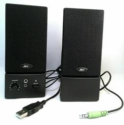 COMPUTER SPEAKER SET - Cyber Acoustics CA-2016 USB 2.0 Speak