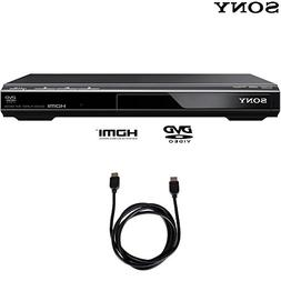 Sony DVPSR510H DVD Player with 6ft High Speed HDMI Cable