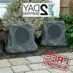 Free Rock Outdoor Speakers With Bluetooth Wireless Waterproo
