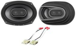 Polk Audio Front Factory Speaker Replacement Kit For 1999-04