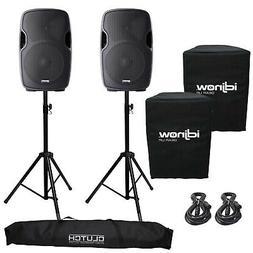 Gemini AS-1200P Active/Powered Portable DJ PA Speaker System
