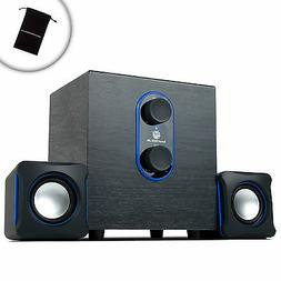 2.1 PC Speakers System with Subwoofer by GOgroove - SonaVERS