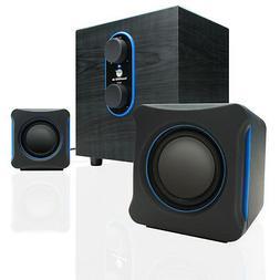 GOgroove SonaVERSE GG-SONAVERSE-LBR 2.1 Speaker System - 11
