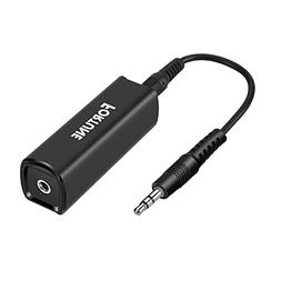Fortune Ground Loop Noise Isolator  for Eliminating Bluetoot