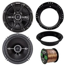 "98-13 Harley Speaker Bundle: 2x of Kicker 43DSC6504 6.5"" Inc"